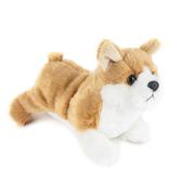 Aurora, Mini Flopsies, Corky the Corgi Stuffed Animal, 8 inches