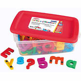 Jumbo Alphamagnet Mathmagnet- 100 Pieces