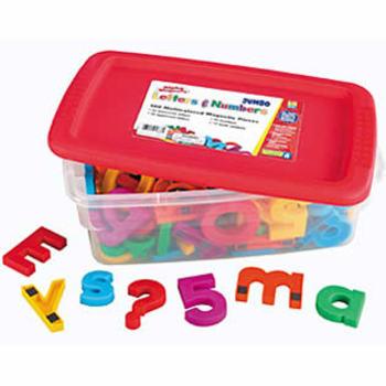 Jumbo Alphamagnet Mathmagnet- 100 Pieces