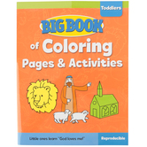 Big Book of Coloring Pages and Activities for Toddlers by David C Cook, Paperback, 208 Pages, Ages 1-3