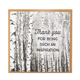 Imagine Design, Thank You For Being Such An Inspiration Magnet, 3 1/2 x 3 1/2 inches