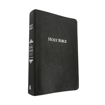 KJV Thomas Nelson Study Bible, Large Print, Bonded Leather, Thumb Indexed, Multiple Colors Available