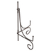 Foldable Wire Easel, Metal, Dark Brown, 7 1/4 x 10 inches