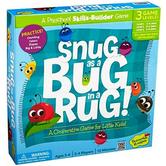 Peaceable Kingdom, Snug as a Bug in the Rug Game, Ages 3 to 6 Years Old, 2 to 4 Players