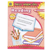 Teacher Created Resources, Daily Warm-Ups Reading Workbook, Reproducible Paperback, 176 Pages, Grade 1