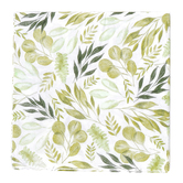 Brother Sister Design Studio, Farmhouse Foliage Paper Napkins, 6 1/2 inches, Set of 50