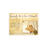 Pathfinders, Leonardo da Vinci Catapult Kit, 35 Pieces, 10 x 16 x 5.5 Inches, Ages 12 and up