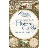 Classical Acts & Facts History Cards: Modern World