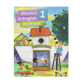 BJU Press, Phonics and English 1 Student Worktext, 4th Edition, Paperback, Grade 1