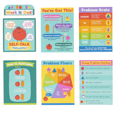 Carson Dellosa, Social Problem-Solving Bulletin Board Set, 7 Pieces