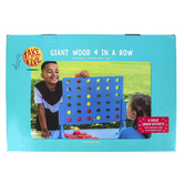 Take Five, Giant Wooden 4-In-A-Row Game, 43 Pieces, Ages 5 and Older, 2 Players