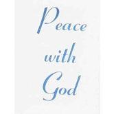 McBeth, Peace With God Mini Scripture Book, Paperback