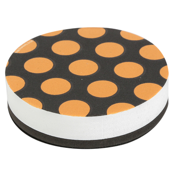 Glimmer of Gold Collection, Magnetic Whiteboard Eraser, Natural Woodgrain Design, 3.5 x 3.5 Inches