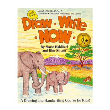 Draw Write Now Book 8, Grades K-3