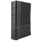 NKJV Life Application Study Bible, Imitation Leather, Black