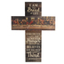 P. Graham Dunn, Last Supper Wall Cross, Wood, 14 x 19 1/2 inches