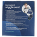 Bouncyband, Big Wiggle Seat Sensory Chair Cushion, Blue, 13 Inch Diameter, Ages 6-18