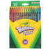 Crayola, Twistables Colored Pencils, 30 Count, Assorted Colors, Ages 3 and up