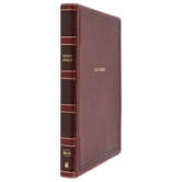 NKJV Thinline Bible, Giant Print, Imitation Leather, Multiple Colors Available, Thumb Indexed