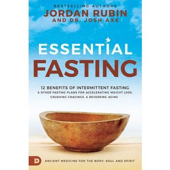 Essential Fasting, by Jordan Rubin & Dr. Josh Axe, Hardcover