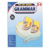 Carson-Dellosa, The 100 plus Series Grammar Workbook, Reproducible, 128 Pages, Grades 5-6
