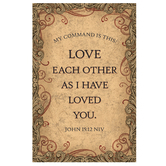 Salt & Light, Love Each Other Church Bulletins, 8 1/2 x 11 inches Flat, 100 Count
