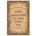 Salt & Light, Love Each Other Church Bulletins, 8 1/2 x 11 inches Flat, 100 Count