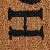 Hooray Youre Here Doormat, Coir & Polyvinyl Chloride, Brown & Black, 18 x 30 inches