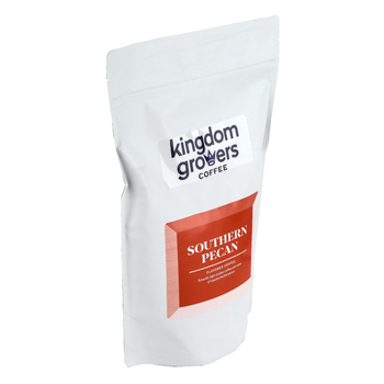 Kingdom Growers Coffee, Southern Pecan Coffee Grounds, 12 ounces