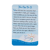 Blue Mountain Arts, You Can Do It Wallet Card, 2 x 3 1/4 inches