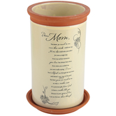 Dicksons, Dear Mom Flower Pot, Terra Cotta, 4 3/4 x 7 3/4 inches