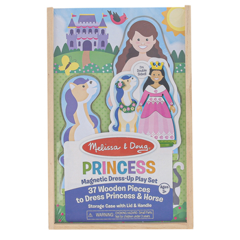 Melissa & Doug, Princess Magnetic Dress-Up Play Set, 37 Pieces, Ages 3 and Older