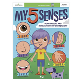 Renewing Minds, Anchor Chart My Five Senses, Multi-colored, 17 x 22 Inches, 1 Each, Grades PreK-3