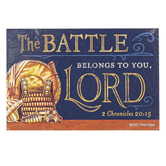ThreeRoses, 2 Chronicles 20:15 Pass Along Cards, Pack of 10