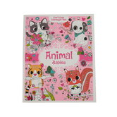 Animal Babies Cool and Calm Coloring Book for Kids, Grades 3-4