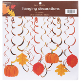 Brother Sister Design Studio, Fall Hanging Decorations, 29 1/2 x 37 3/4 inches, 12 Pieces