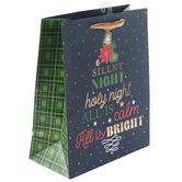 Renewing Faith, Silent Night Medium Gift Bag, 11 1/2 x 9 1/2 x 4 1/2 inches