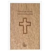 Demdaco, Cherished Blessings, First Communion Prayer Box, Mango Wood, 4 1/2 x 6 1/2 x 2 1/2 inches