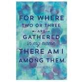 Salt & Light, For Where Two Or Three Are Gathered Church Bulletins, 8 1/2 x 11 inches Flat, 100 Count