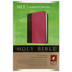 NLT Compact Bible, Duo-Tone, Pink and Brown
