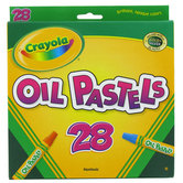 Crayola, Oil Pastels, 28 Count