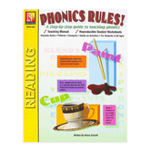 Remedia Publications, Phonics Rules! Activity Book, Reproducible Paperback, 88 Pages, Grades 1-3 and up