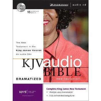 KJV Dramatized New Testament Bible, 16 CDs