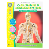 Classroom Complete Press, Cells, Skeletal and Muscular Systems, Paperback, 60 Pages, Grades 5-8