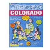 Gallopade, My First Book About Colorado, Paperback, 32 Pages, Grades K-3