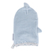 Stephen Joseph, Shark Baby Bath Mitt, Cotton, Blue & Gray, 5 1/2 x 8 inches