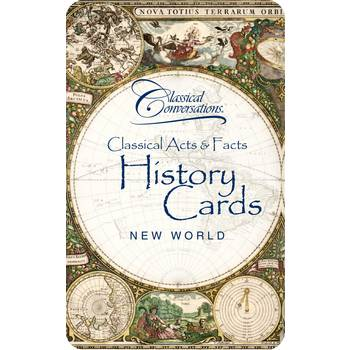 Classical Acts & Facts History Cards: New World