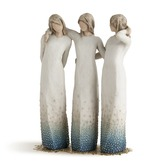 Willow Tree, By My Side Figurine, by Susan Lordi,  Resin, 9 1/2 inches