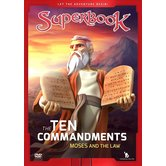 Superbook, The Ten Commandments: Moses and the Law, DVD