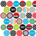 Isabella Collection, Mini Incentive Stickers, Multi-Colored, Pack of 1050